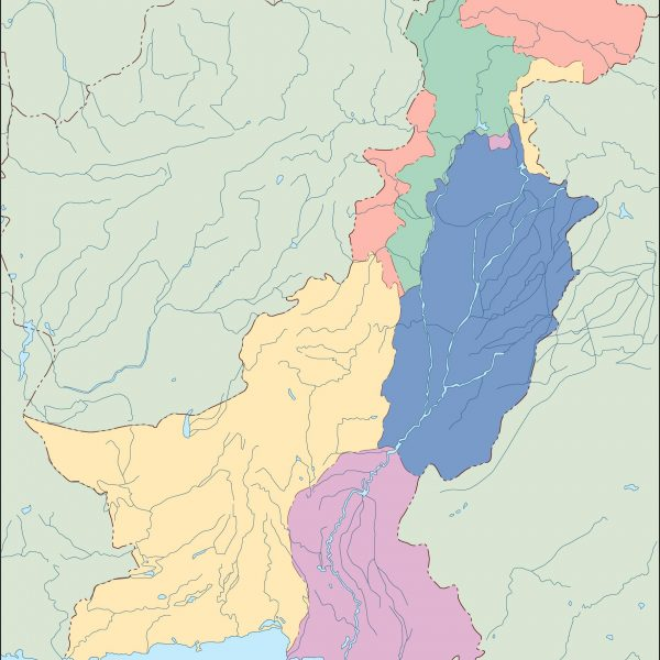 pakistan blind map
