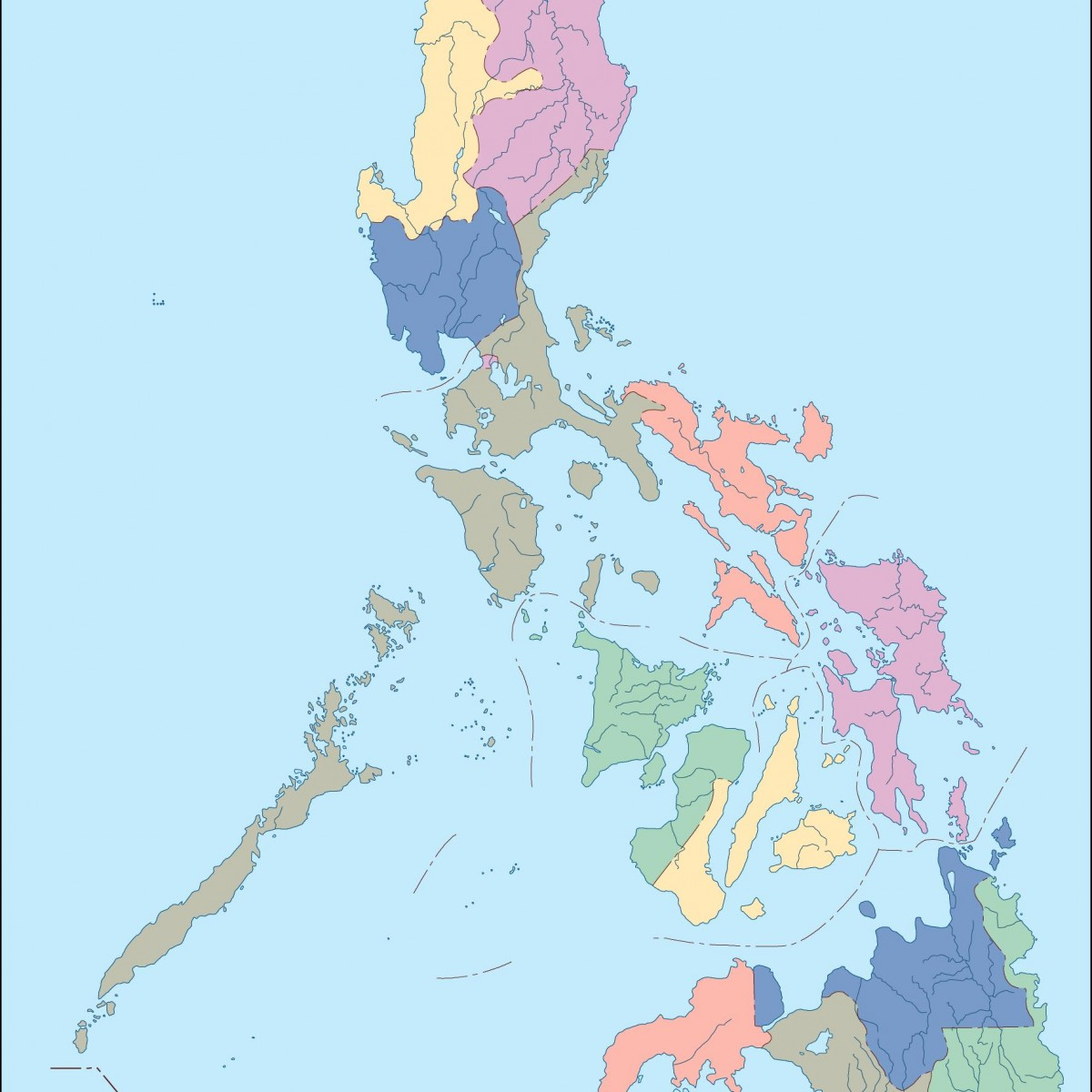 philippines blind map on map showing philippines, map of philippines in imperialism, map of philippines in asia, map of bohol island philippines, map of morocco and surrounding countries, map of philippines on world map,