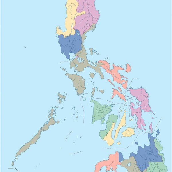 philippines blind map