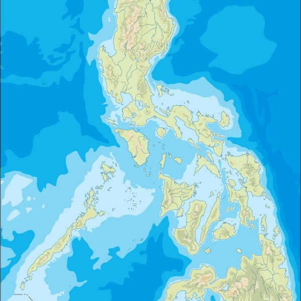 philippines illustrator map