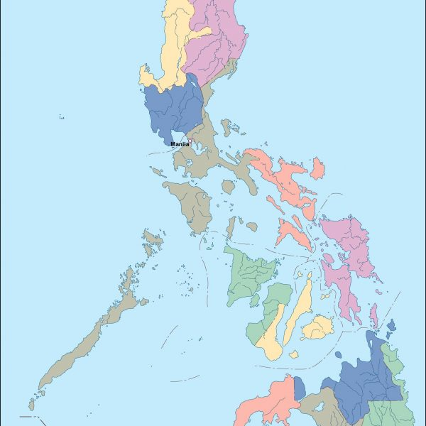 philippines vector map
