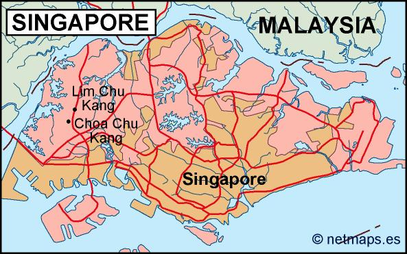 singapore political map Eps Illustrator Map Our cartographers