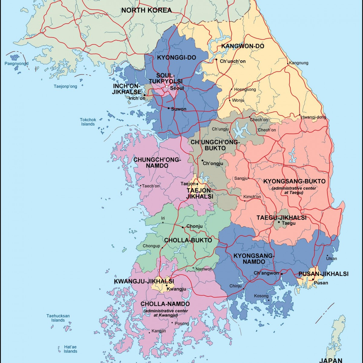 south korea political map eps illustrator map a vector eps maps designed by our cartographers city victoria city victoria tx
