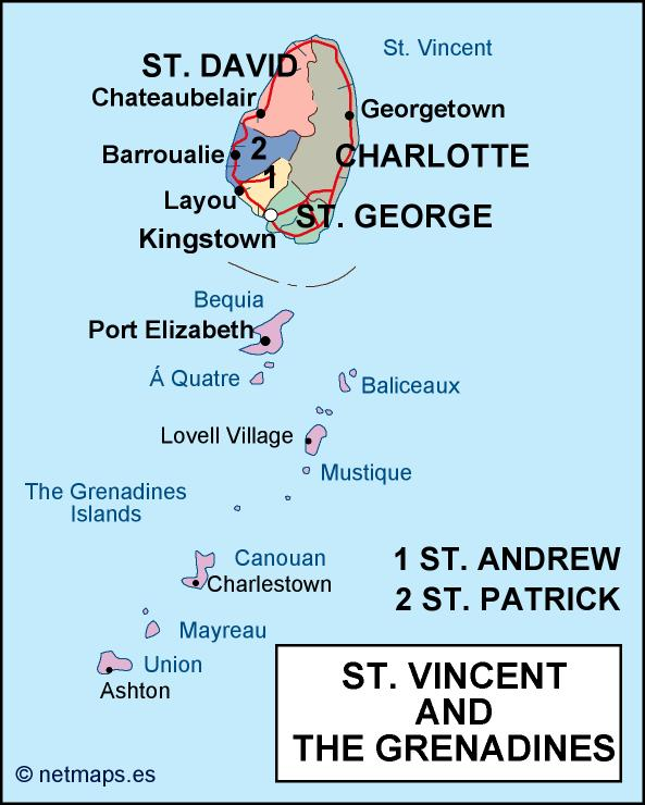 st vincent and the grenadines political map on saint thomas map, saint vincent and the grenadines national dish, saint vincent airport map, saint kitts map, the bahamas map, wallis and futuna map, saint vincent and the grenadines people, palm island grenadines resort map, kingdom of the netherlands map, sao tome and principe map, north and south map, saint vincent and the grenadines flag, saint vincent and the grenadines carnival, trinidad and tobago map, turks and caicos islands map, saint helena map, saint vincent and the grenadines palm island, st. vincent map,