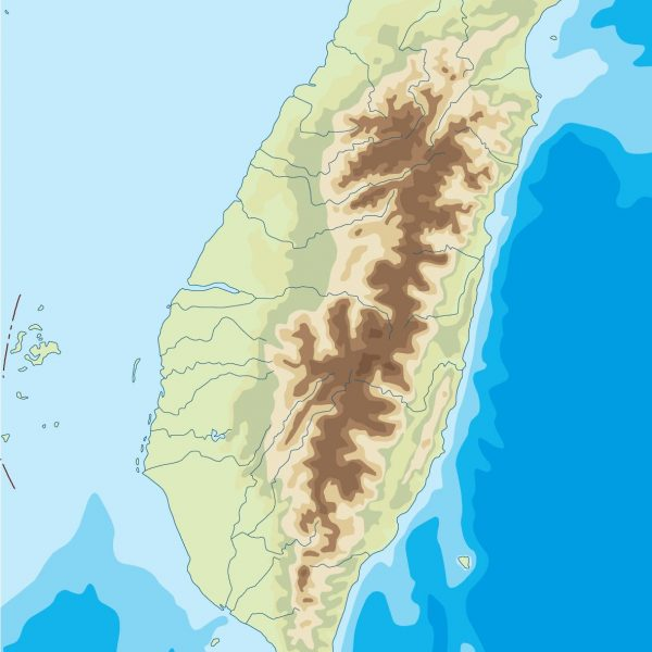 taiwan illustrator map