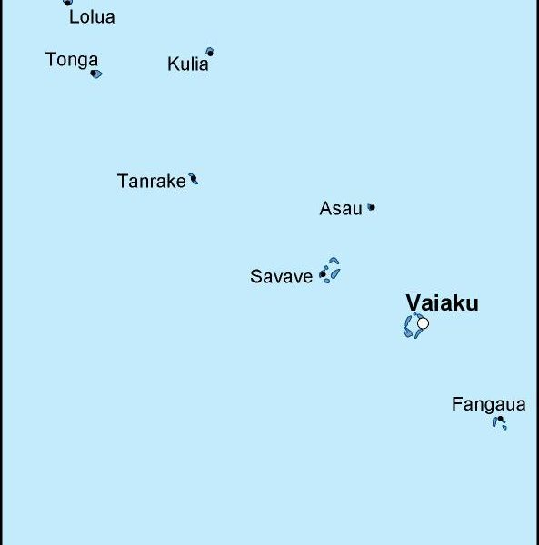 tuvalu political map