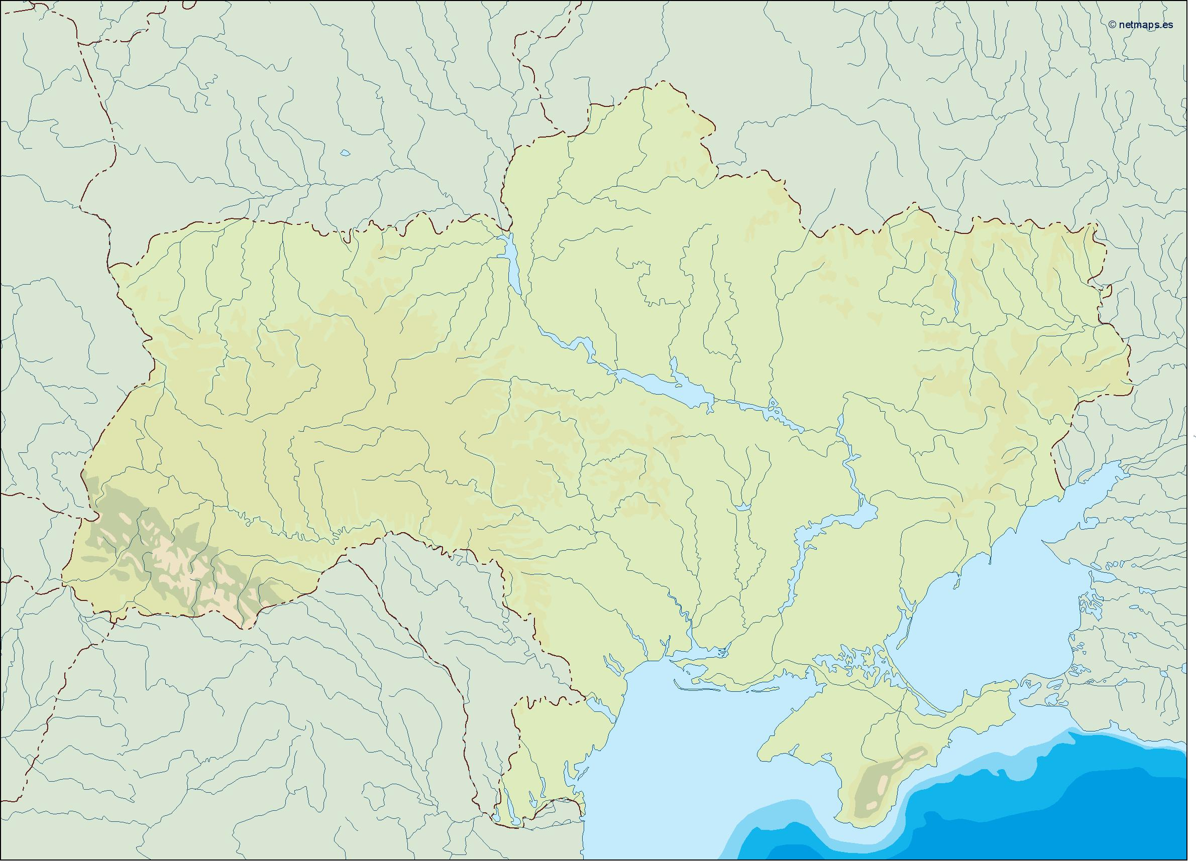 Country vector maps europe vector europe maps illustrator maps of ukraine illustrator map gumiabroncs Gallery