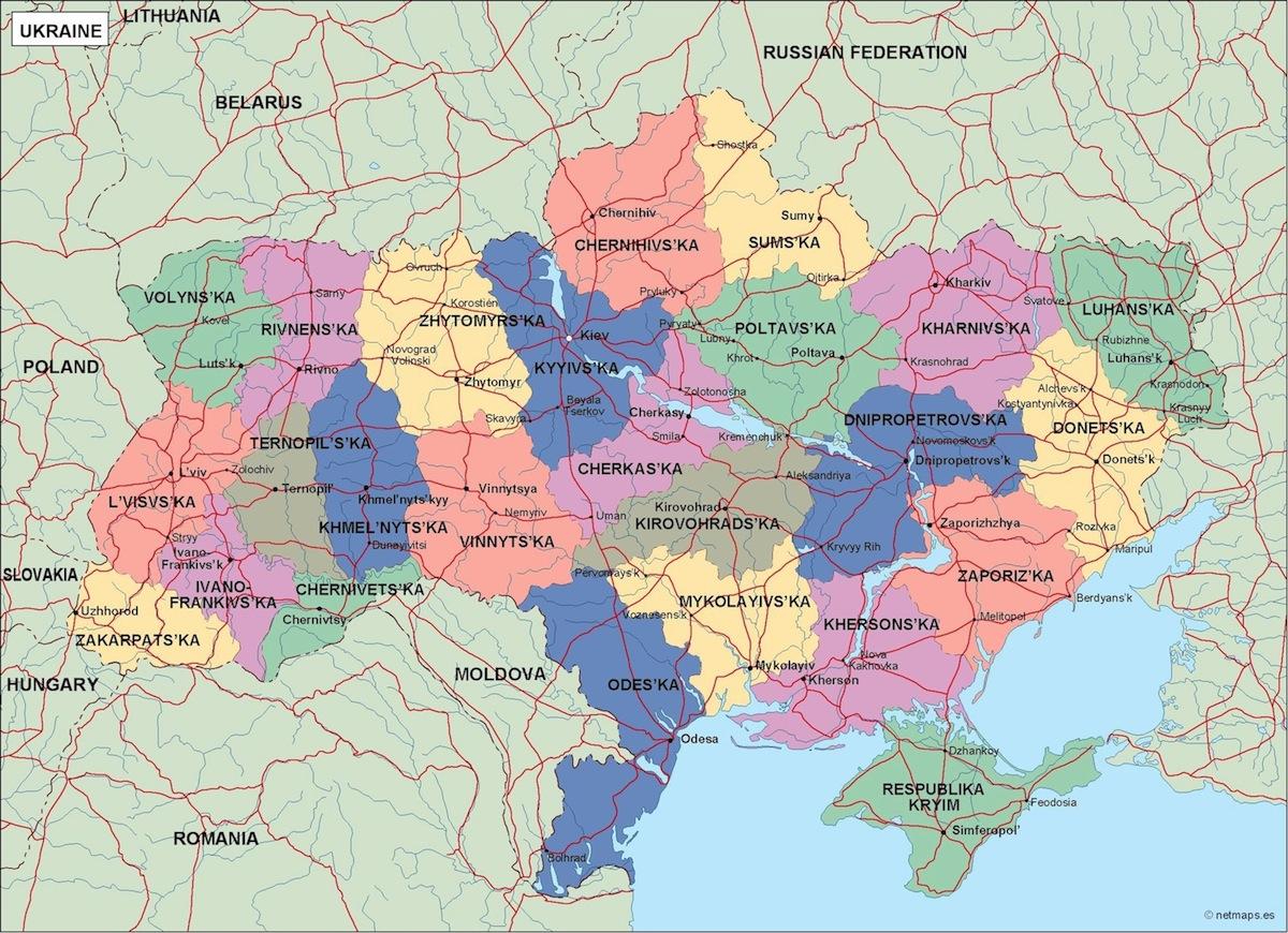 ukraine political map ID 2097 Edit Quick Edit Trash