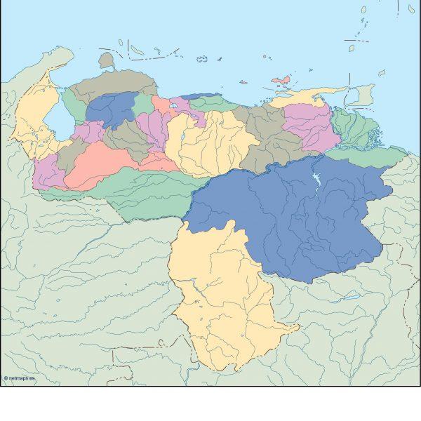 venezuela blind map