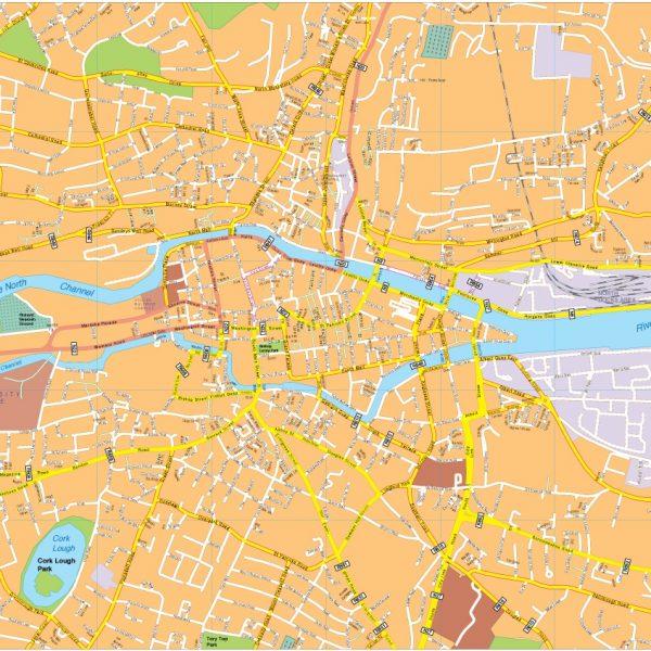 Cortk vector map