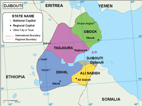 Djibouti EPS map