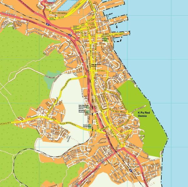 Gdynia EPS map