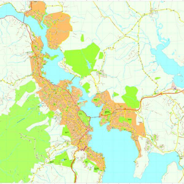 Hobart Vector Maps
