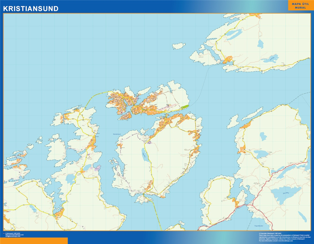 Kristiansund Kart EPS Illustrator Map Our Cartographers Have - Norway map eps