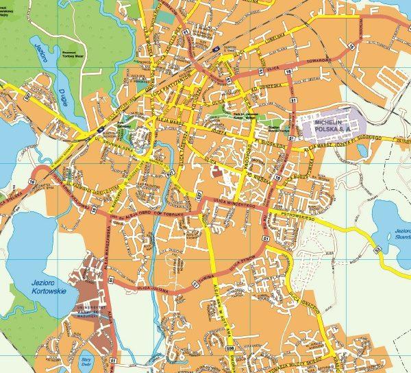 Olsztyn EPS map