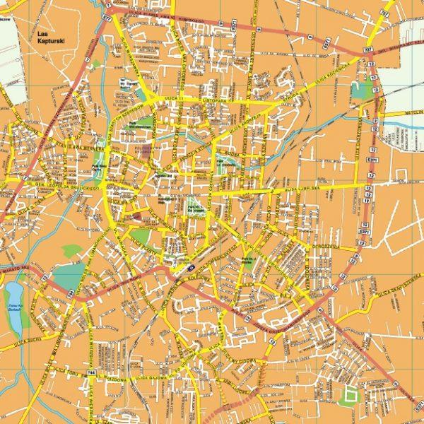 Radom EPS map