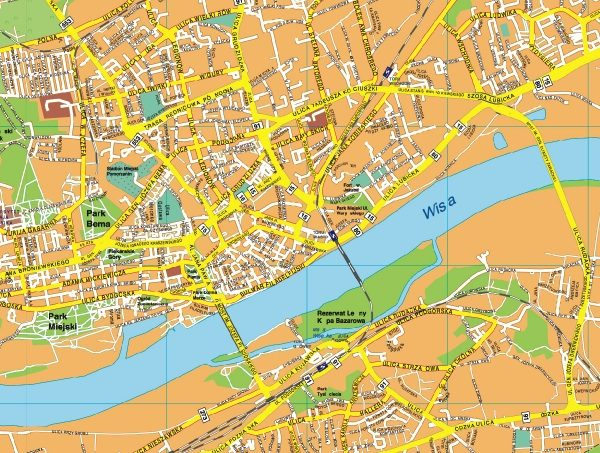 Torum EPS map