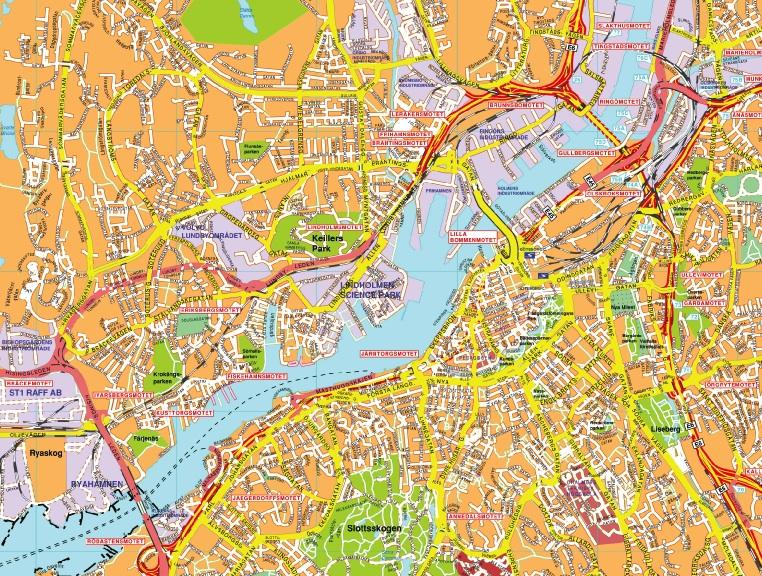 brunnsbo göteborg karta Gotebmap brunnsbo göteborg karta