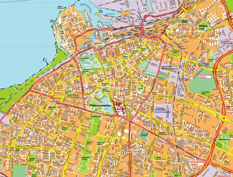 karta maps karta malmo. EPS Illustrator Map | A vector eps maps designed by  karta maps