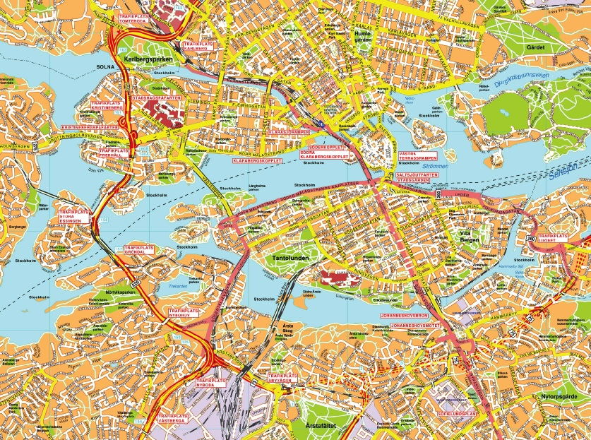 karta stockholm city karta stockholm. EPS Illustrator Map | A vector eps maps designed  karta stockholm city