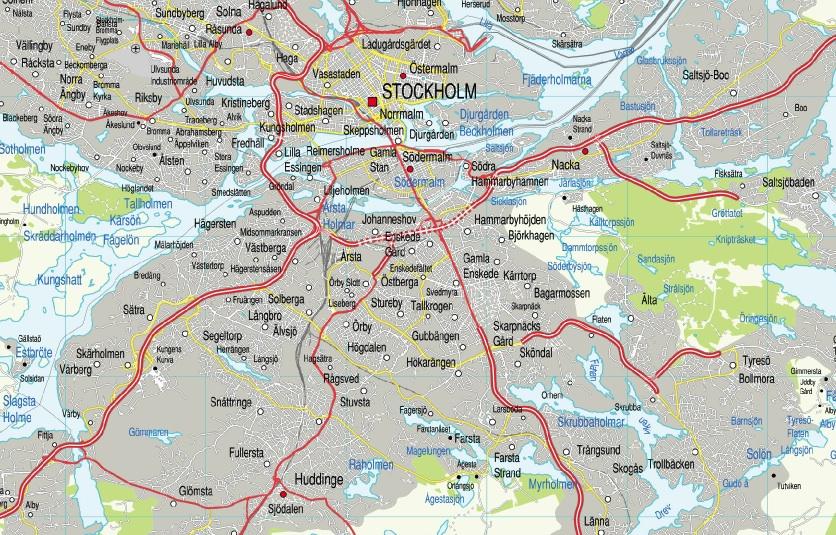 Karta World.Karta Storstockholm Eps Illustrator Map Vector World Maps