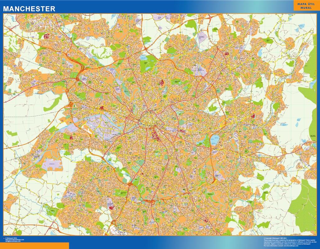 Manchester World Map.Manchester Vector Map Eps Illustrator Map Vector World Maps