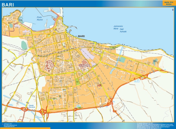 mappa eps bari Eps Illustrator Map Our cartographers have made