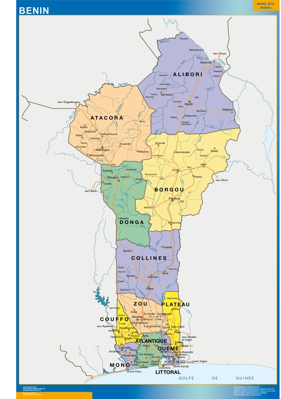 wall map benin Our cartographers have made wall map benin