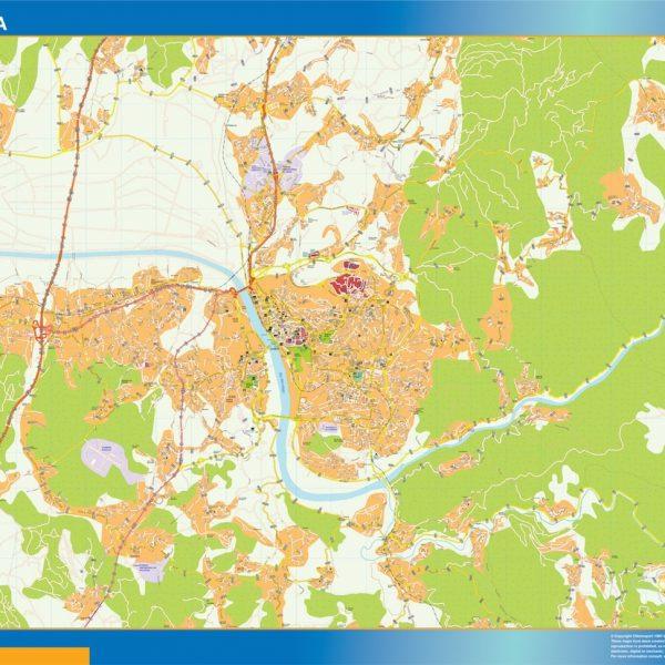 Coimbra mapa
