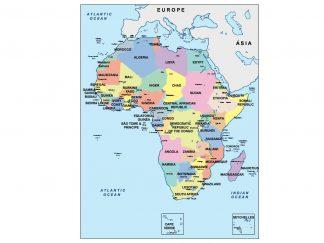 africa presentation map
