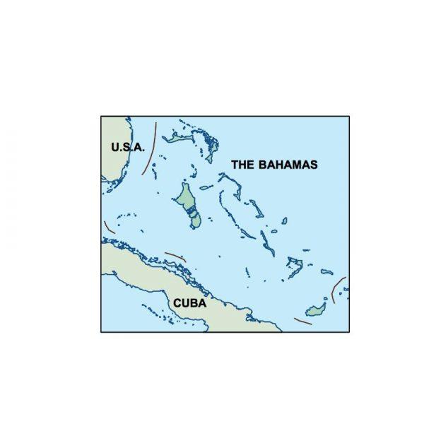 bahamas presentation map