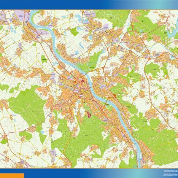 bonn wall map