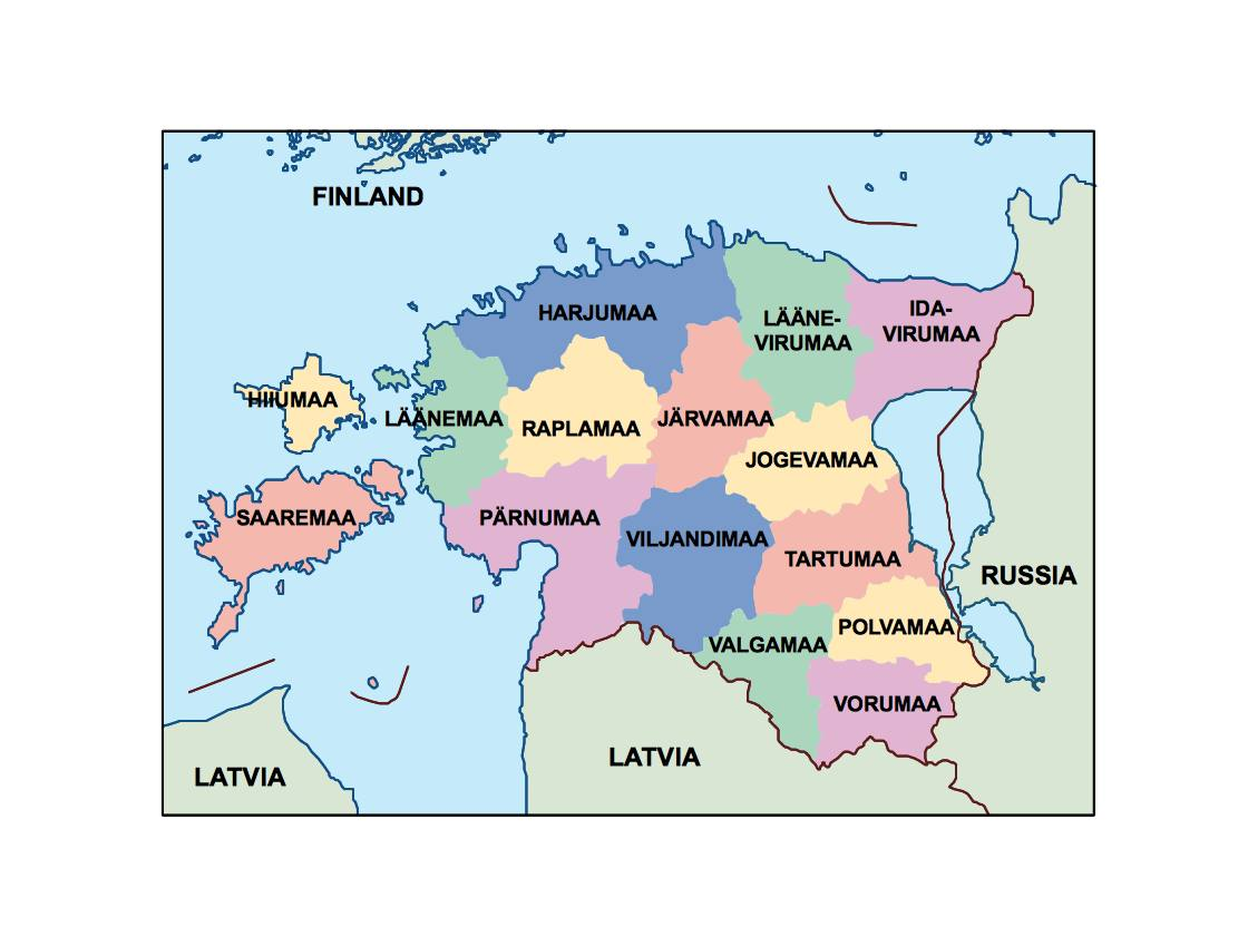 Where Is Estonia On A Map. Click Map To Enlarge With Where ...