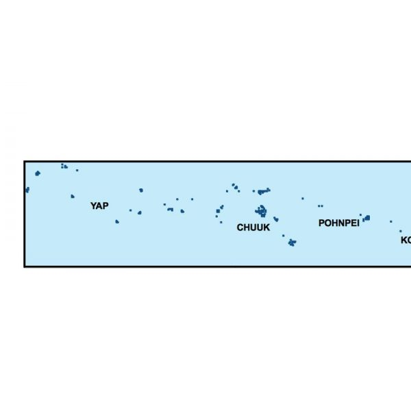 federated states of micronesia presentation map