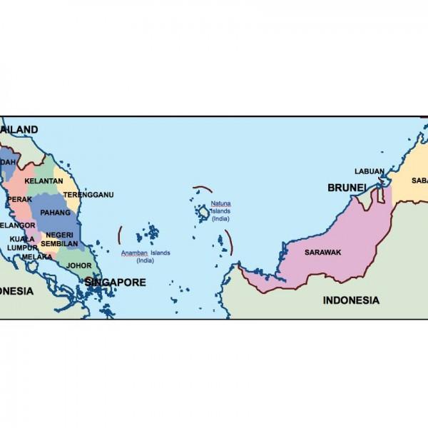 malaysia presentation map