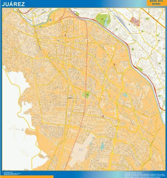 mapa Juarez centro