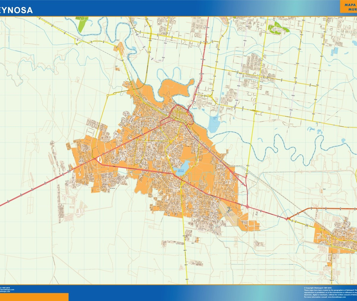 mapa Reynosa Our cartographers have made mapa Reynosa