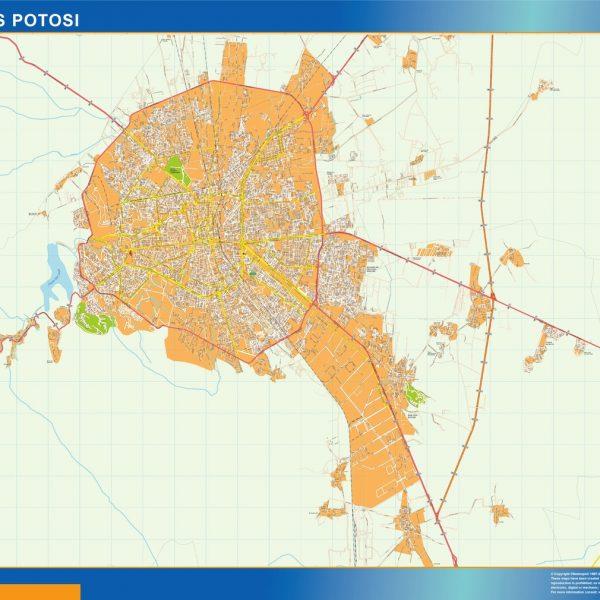 mapa San Luis Potosi