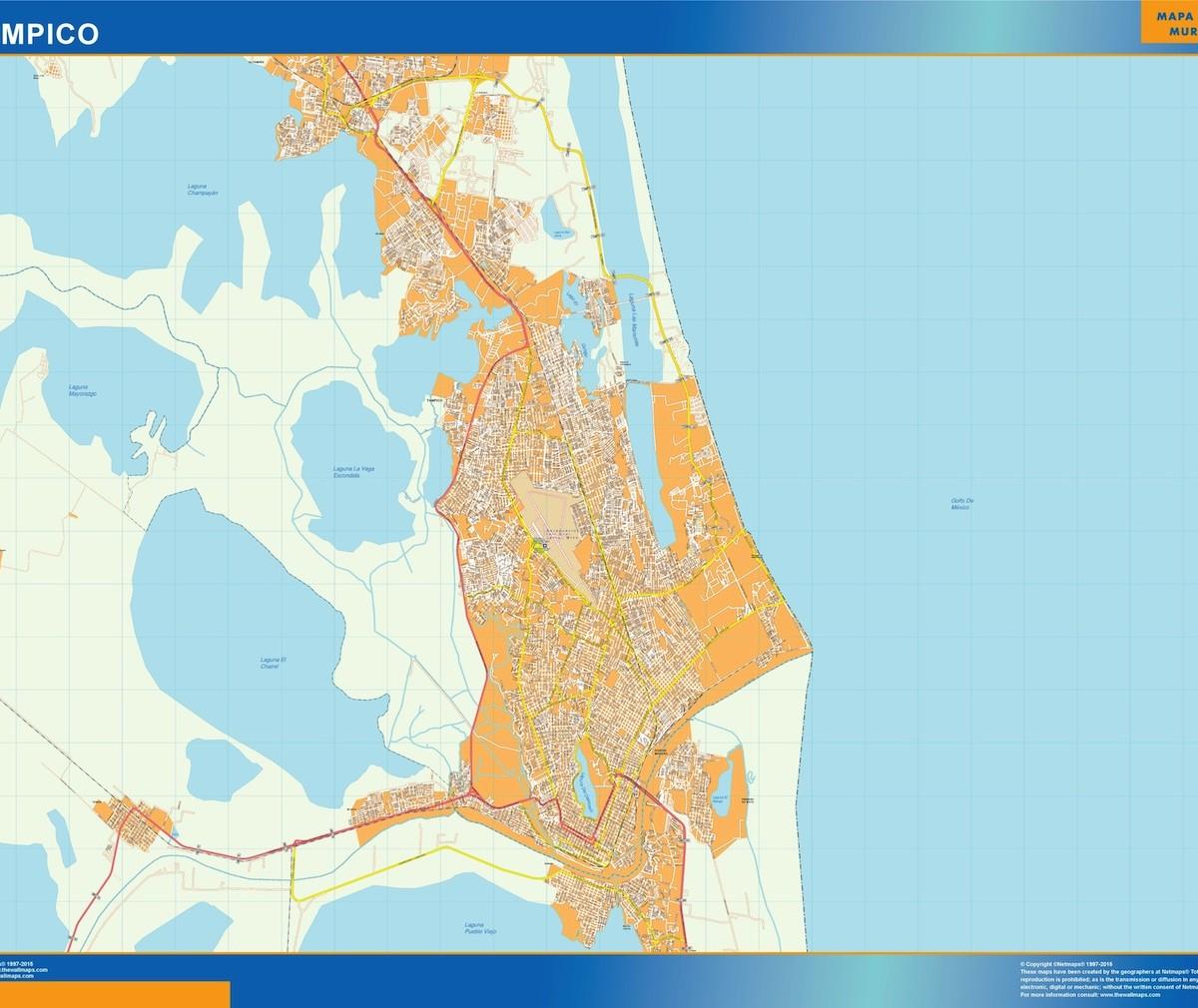 mapa Tampico Our cartographers have made mapa Tampico