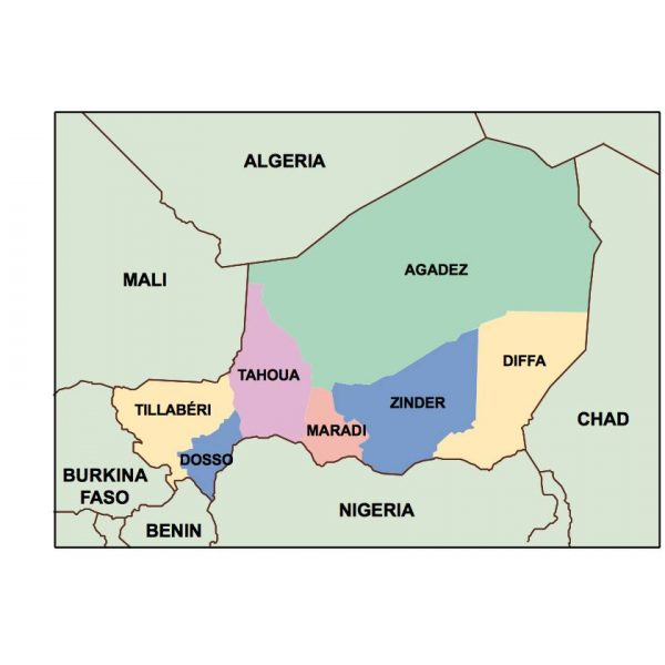 niger presentation map
