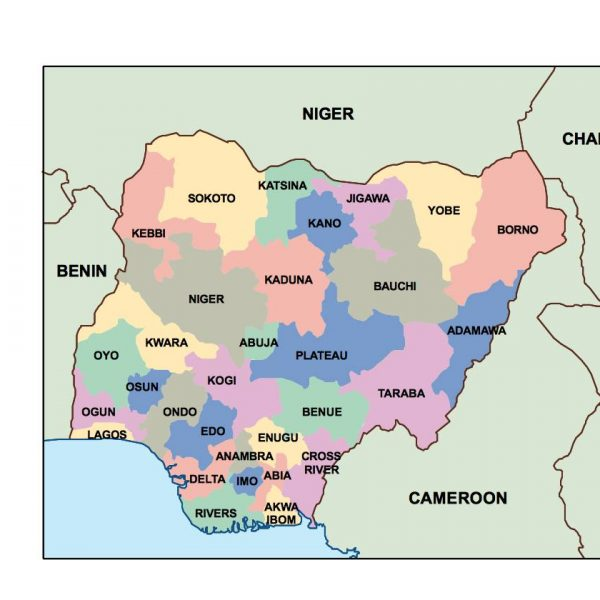 nigeria presentation map