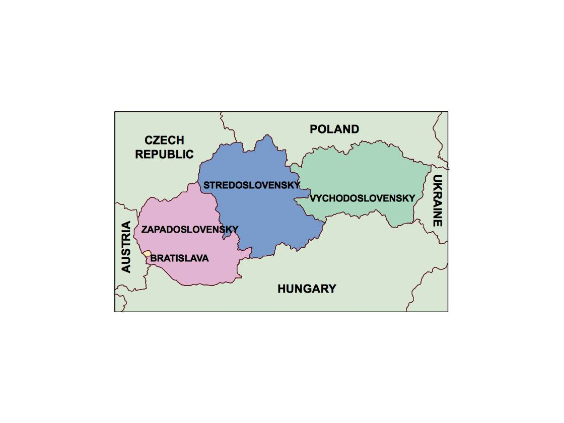 find slovakia presentation map for a project netmaps vector eps maps