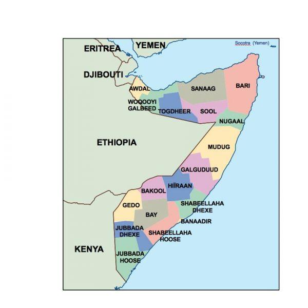 somalia presentation map