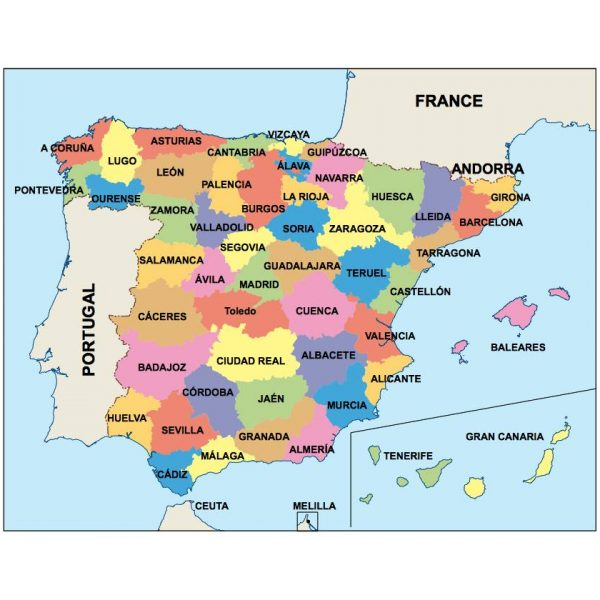 Europe Ppt Maps Vector Wall Maps Made In Barcelona From Netmaps - Barcelona map of europe