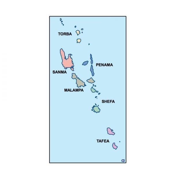 vanuatu presentation map