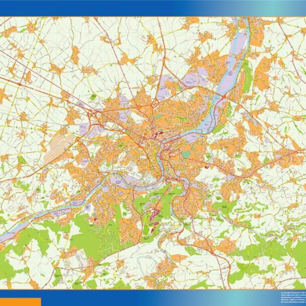 Carte Magnetique Liege