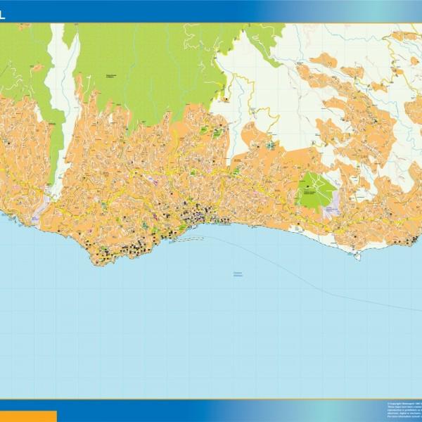Funchal Mapa Magnetico