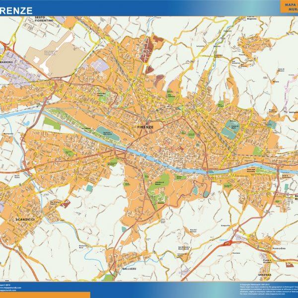 Mappa Magnetica Florencia