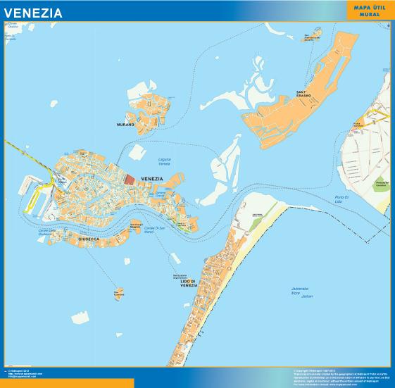 Mappa Magnetica Venezia
