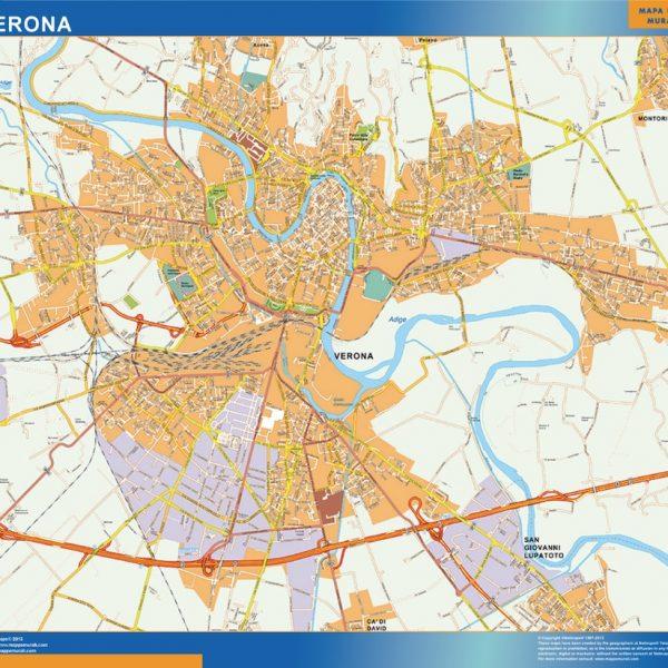 Mappa Magnetica Verona